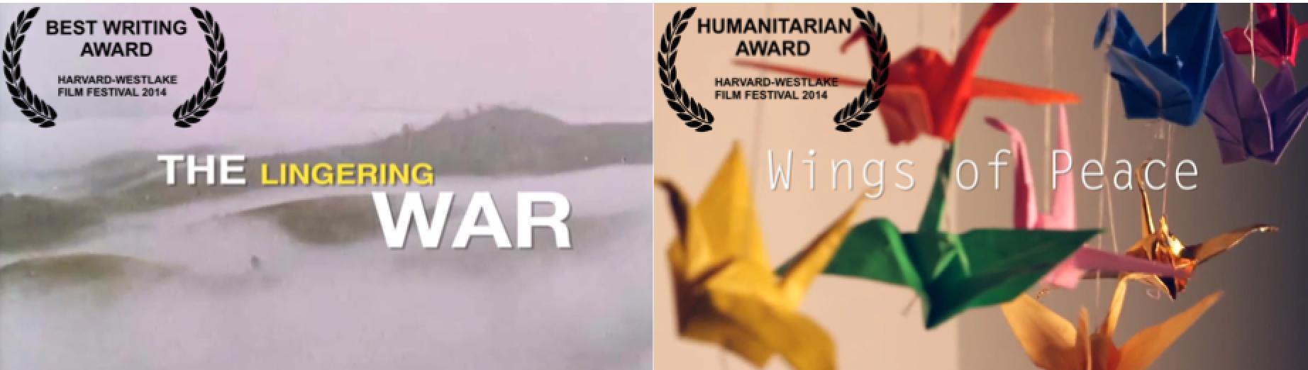 Documentaries Accepted into Harvard Westlake Film Festival